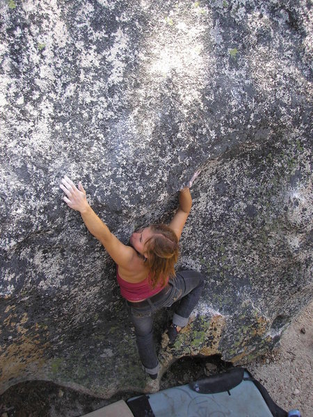 Boulderin at D.L. Bliss. (Tahoe area)