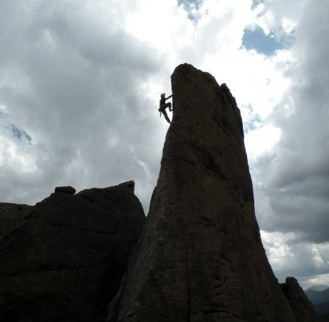 Rock Climbing Photo: Edge of Time, RMNP