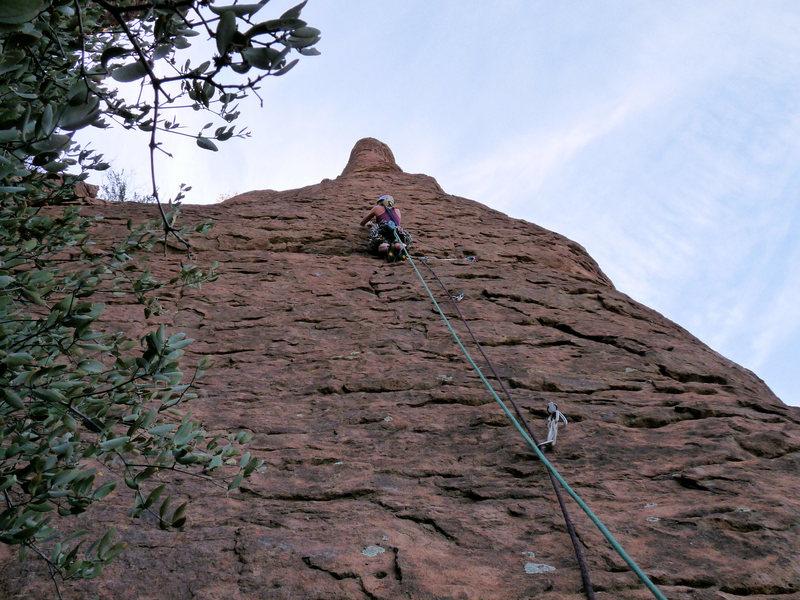 Rock Climbing Photo: Fun route!