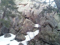Rock Climbing Photo: 5.9 start