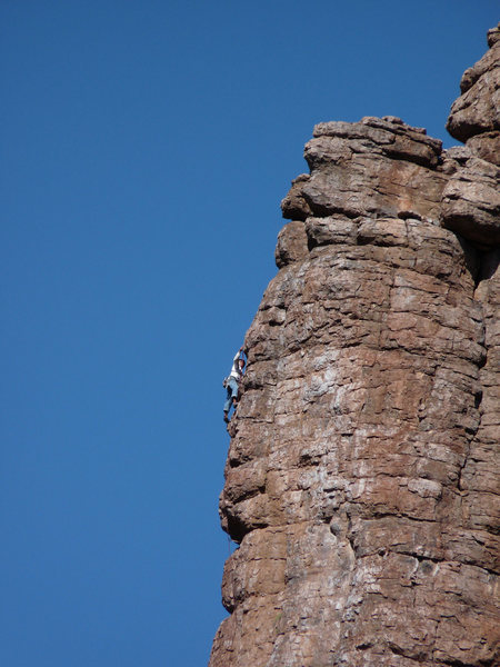 Rock Climbing Photo: taken from LDE
