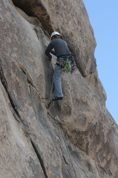 Rock Climbing Photo: ROWCC Club Trip 4-9 to 4-11 2010. Ten in a day tri...