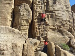 Rock Climbing Photo: Me and my son Carlo working Jim Cruise on TR. Its ...