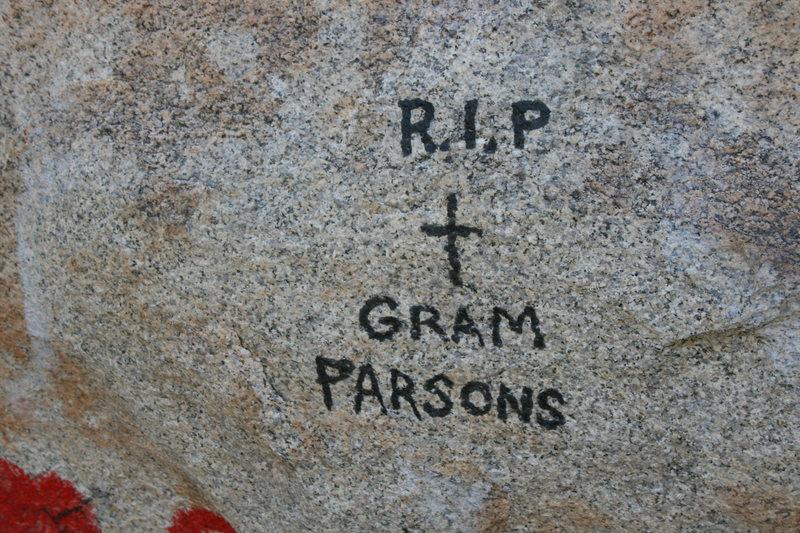 ROWCC Club Trip 4-9 to 4-11 2010.<br> Ten in a day trip.<br> Gram Parsons Memorial Boulder.