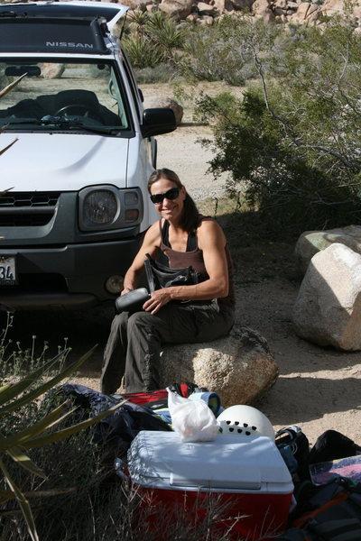 ROWCC Club Trip 4-9 to 4-11 2010.<br> Ten in a day trip.<br> Noelle Ladd