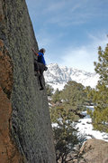 Rock Climbing Photo: 'Sketch Pad' v1 R, Sherman Acres, Buttermilks  pho...