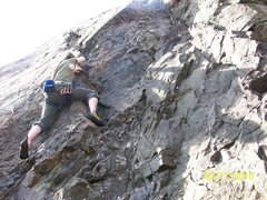 "Rock Climbing Photo: Nick Yuill on ""Fifth Grade Science Project&qu..."