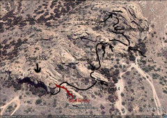 Rock Climbing Photo: Here is the route enjoy!!!