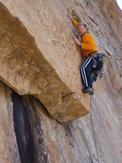 Rock Climbing Photo: Anyone know what this climb is? Starts on Undertow...