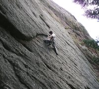 Rock Climbing Photo: Fire Away?