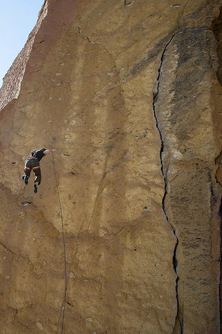 Rock Climbing Photo: Not yet!