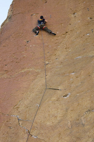 Rock Climbing Photo: airy