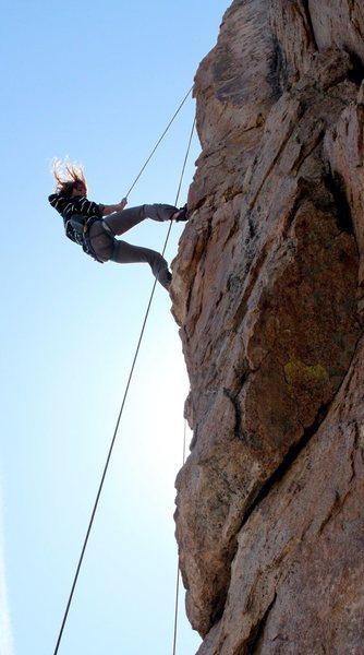 Rock Climbing Photo: 40mph winds
