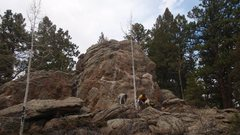 Rock Climbing Photo: We were hiking around and stumbled across this nic...