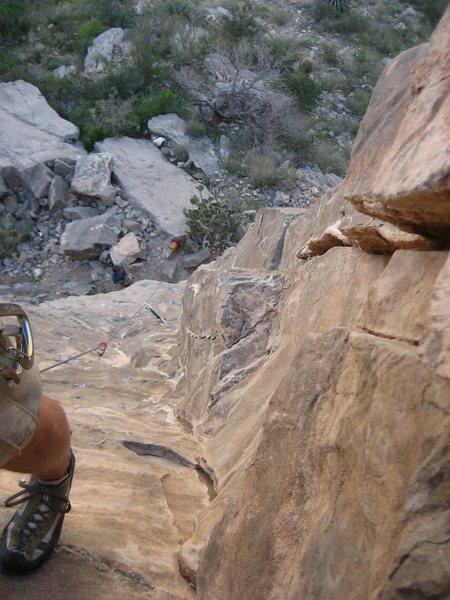 Rock Climbing Photo: Bombay Sapphire