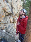 Rock Climbing Photo: belaying at don't start me up, solaris crag