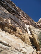 Rock Climbing Photo: After quite a bit of searching, we finally located...