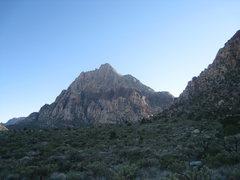 Rock Climbing Photo: Rainbow Mountain