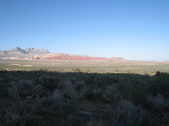 Rock Climbing Photo: Calico Hills from the Juniper Canyon trail