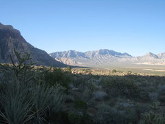Rock Climbing Photo: White Rock Springs (I think) from the Juniper Cany...