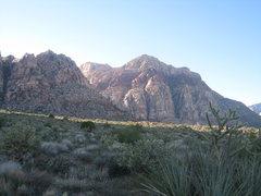 Rock Climbing Photo: Bridge Mountain