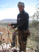 Rock Climbing Photo: Top of pitch 1, Birdland