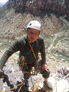 Rock Climbing Photo: Top of pitch 2, Birdland