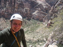 Rock Climbing Photo: The smile says it all...