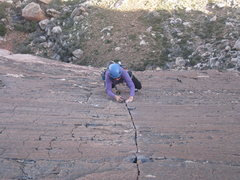 Rock Climbing Photo: Pitch 5 Birdland