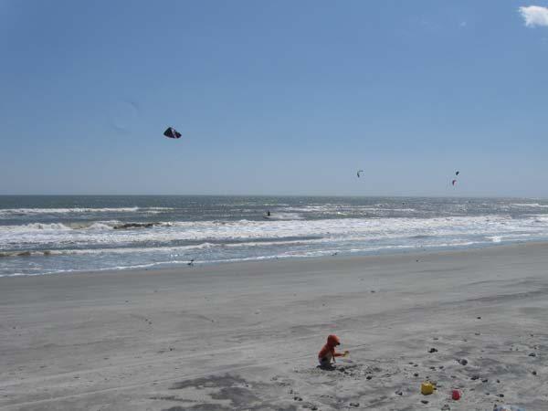 Folly Beach kitesurf