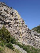 Rock Climbing Photo: Wizard of Wiz 5.10c