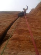 Rock Climbing Photo: Money pitch! 5