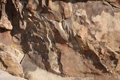 Rock Climbing Photo: Bolts on Eileen Dover