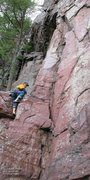 "Rock Climbing Photo: Burt did ""Bloody Mary"" through the roof,..."