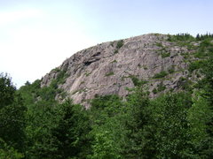 Rock Climbing Photo: South Bubble from the road.