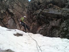 Rock Climbing Photo: Into the Snow.