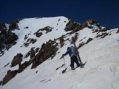 Rock Climbing Photo: Summit is near.