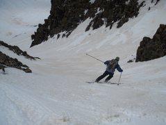 Rock Climbing Photo: Andy sampling the goods.
