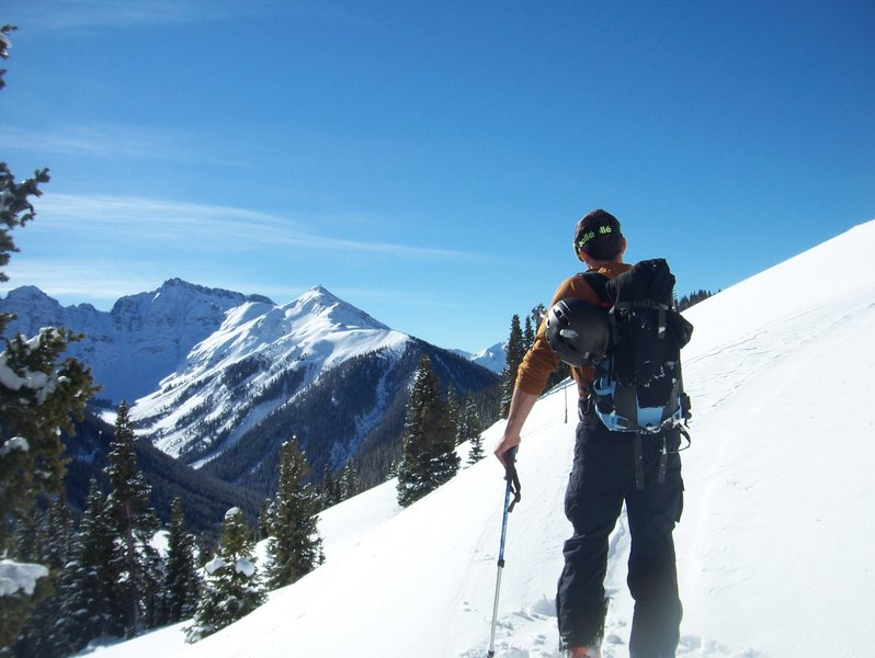 Backcountry near Silverton Mountain.
