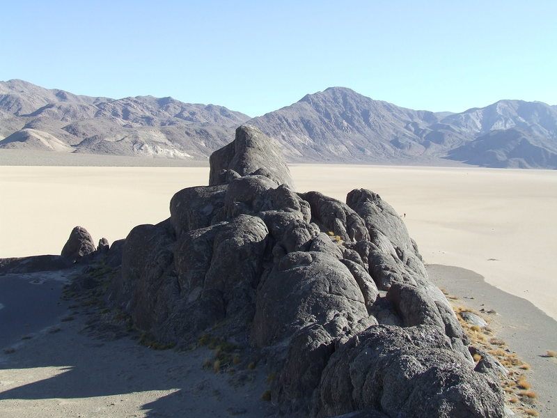 Rock Climbing Photo: Grandstand, Racetrack Valley, Death Valley NP