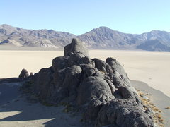 Rock Climbing Photo: Grandstand, Racetrack Valley, Death Valley NP