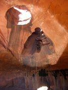 Rock Climbing Photo: Backpacking, and canyoneering in Escalante, Utah A...