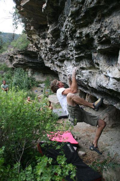 Rock Climbing Photo: Ed Strang on Showcase Showdown