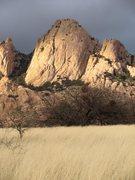 Rock Climbing Photo: sheepshead  Cochise Stronghold