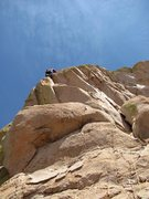 Rock Climbing Photo: amazing end to too tough to die
