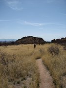Rock Climbing Photo: back to camp