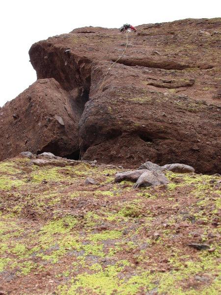 Rock Climbing Photo: praying mo0nk