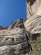 Rock Climbing Photo: leadin'