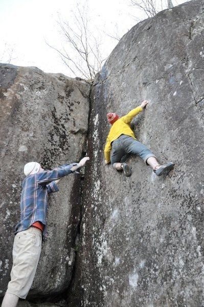 Rock Climbing Photo: Liber Abaci first ascent!