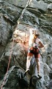 """Rock Climbing Photo: Post on """"Carboboy"""" 5.10c"""